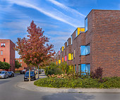Family apartments in a lively proper neighborhood