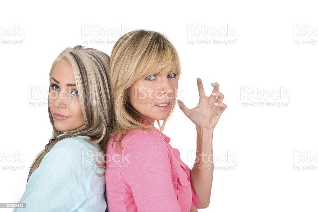 family argument royalty-free stock photo