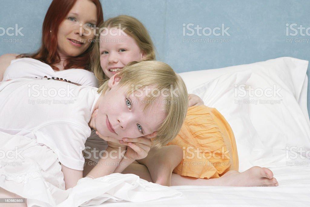 Family at Play stock photo