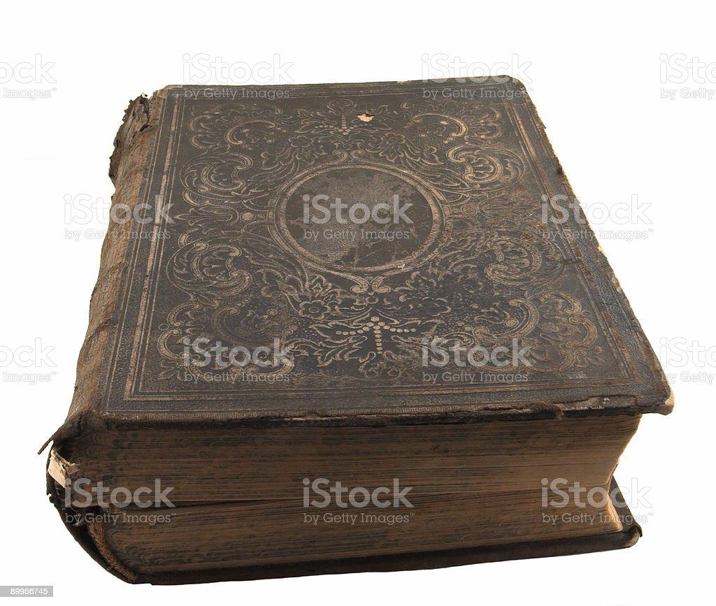 Family Bible stock photo