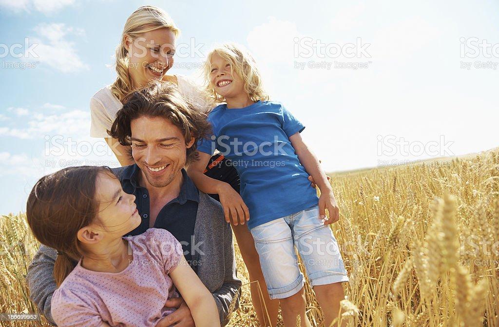 Family bonding royalty-free stock photo
