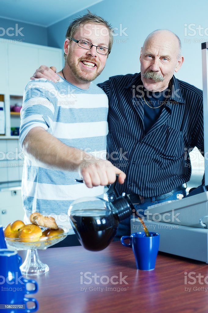 Family business royalty-free stock photo