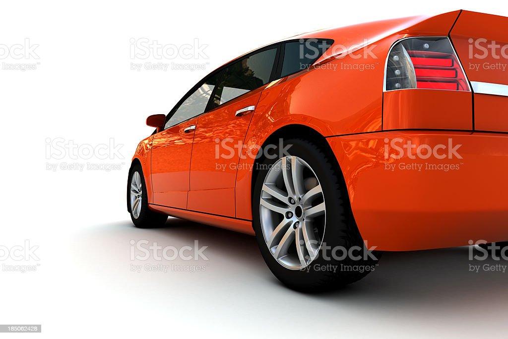 Family Car royalty-free stock photo