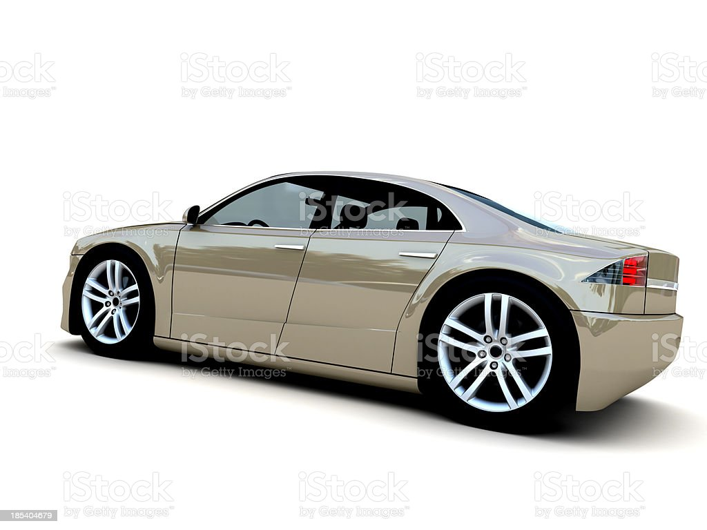 Family Car royalty-free stock photo