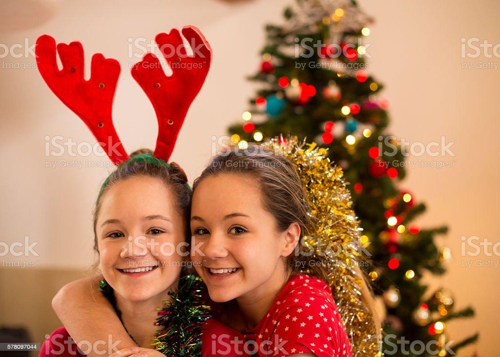 Family Christmas Photos stock photo