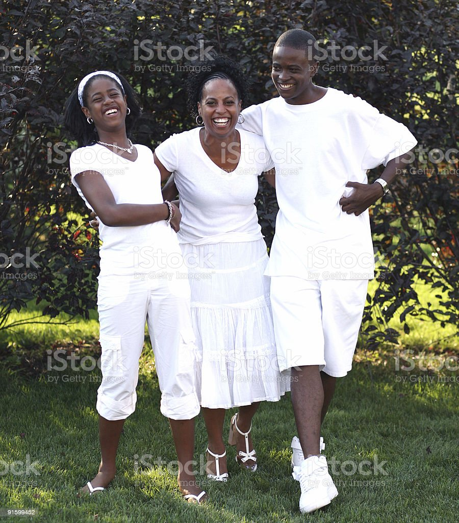 Family Dance royalty-free stock photo