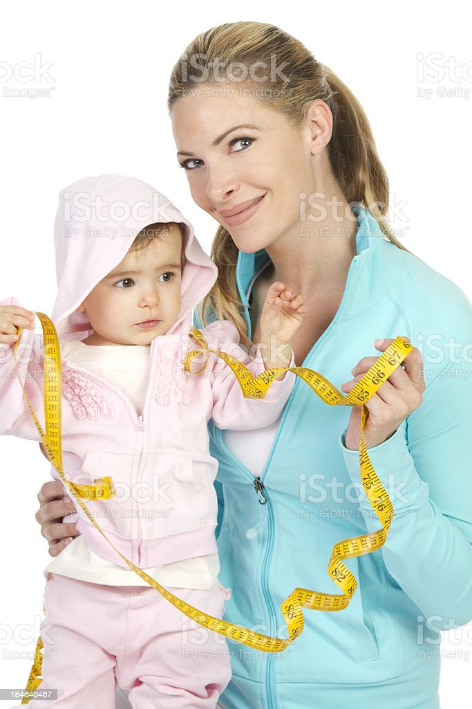 family fitness royalty-free stock photo