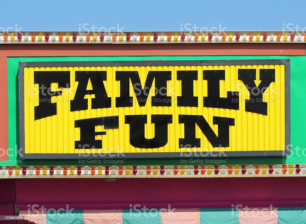 Family Fun royalty-free stock photo