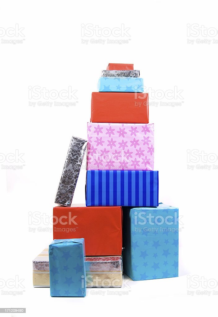 Family gifts royalty-free stock photo