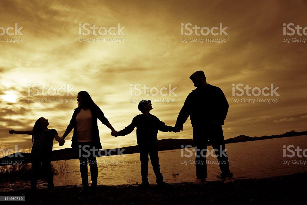 Family Harmony royalty-free stock photo