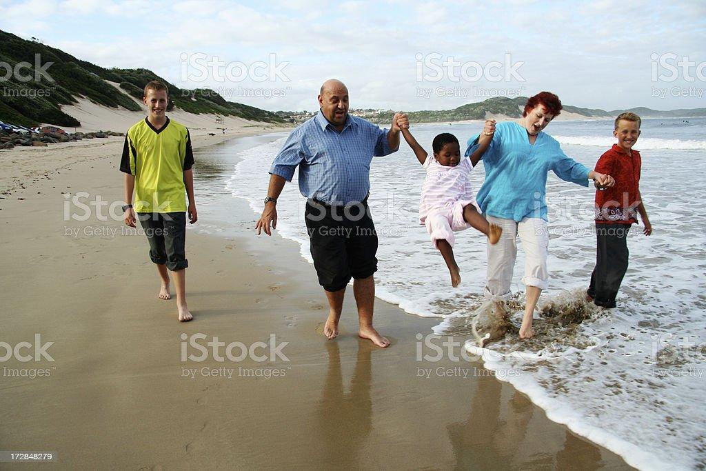 family holiday royalty-free stock photo