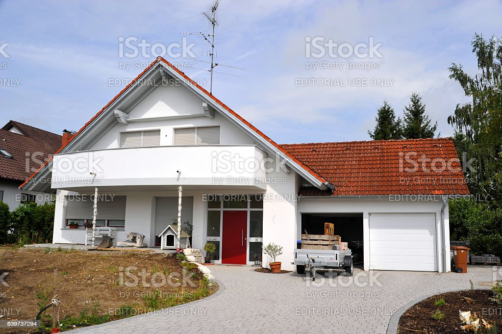 family home real estate stock photo