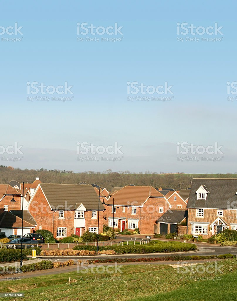 Family homes royalty-free stock photo