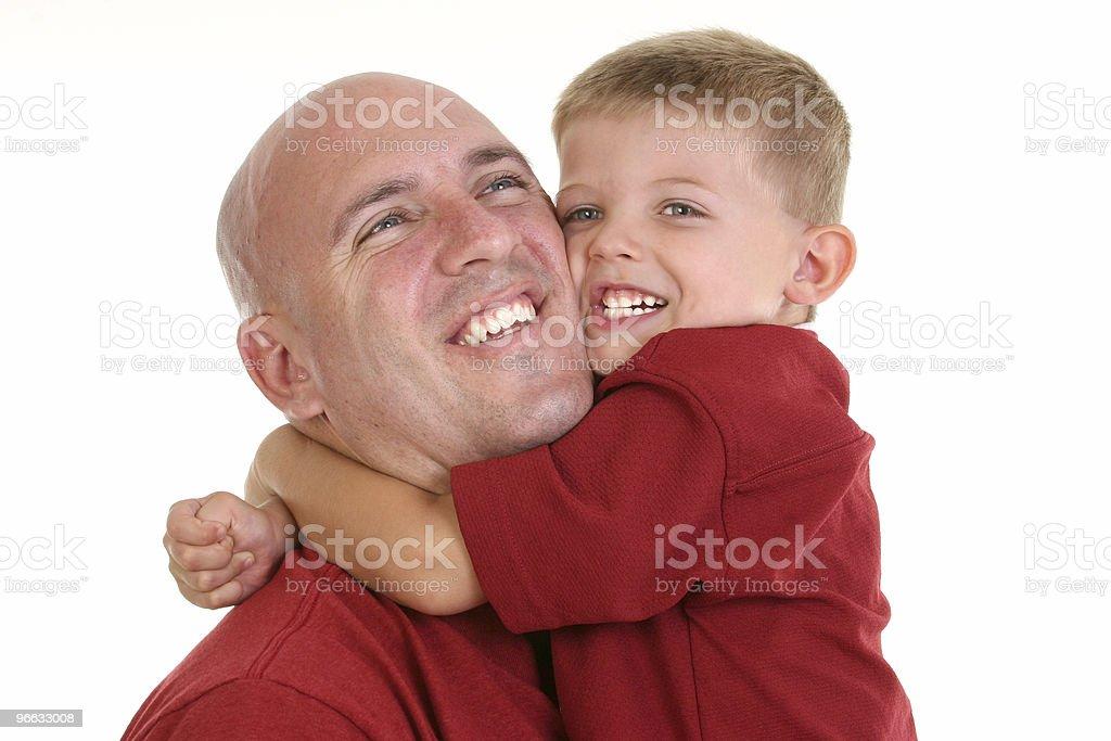 Family Hug royalty-free stock photo