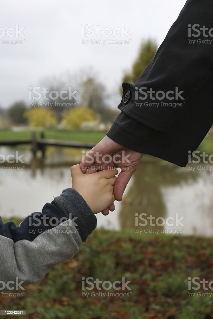 Family in the park royalty-free stock photo