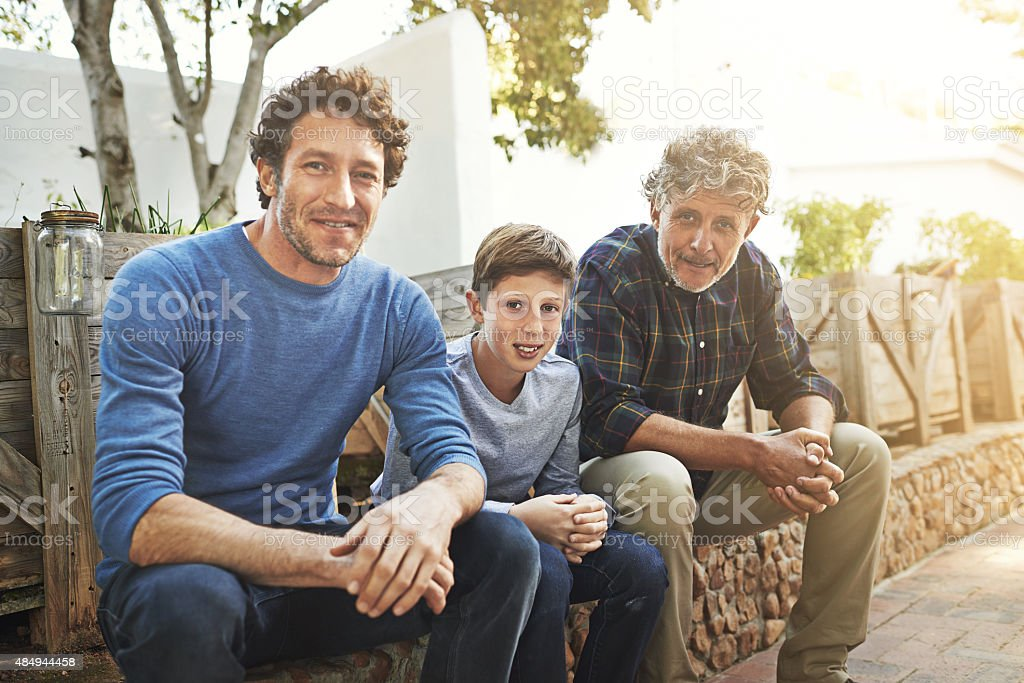 Family is everything stock photo
