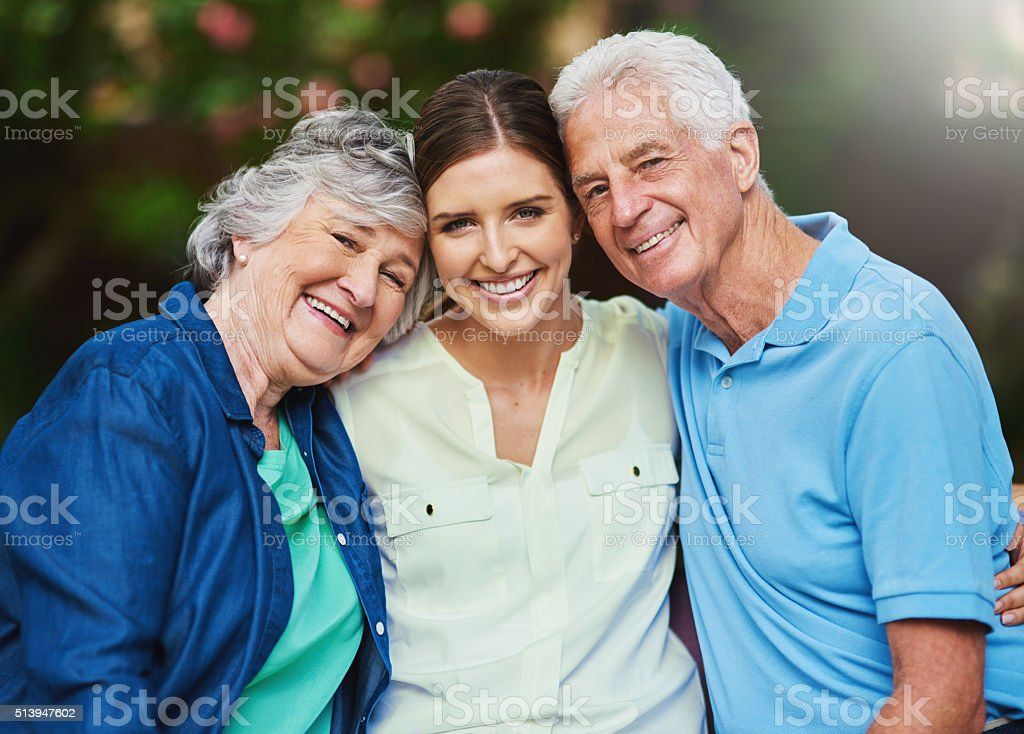 Family is forever stock photo