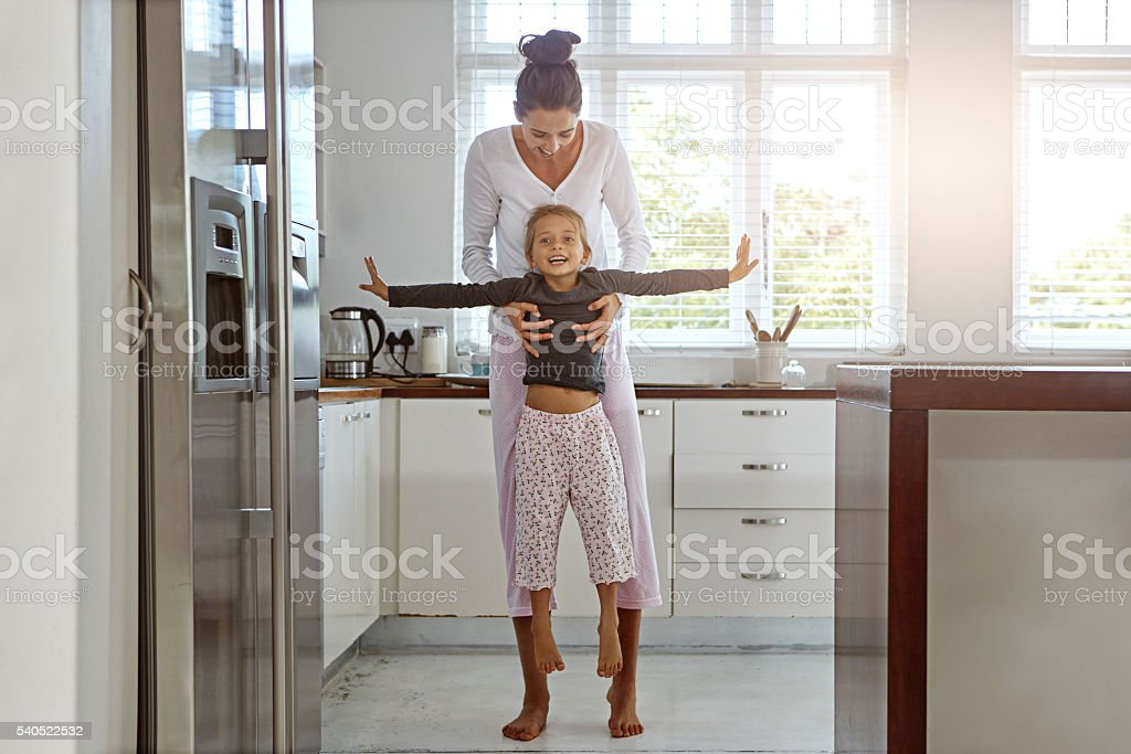 Family is something magical stock photo