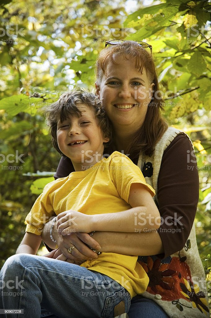 family laugh royalty-free stock photo