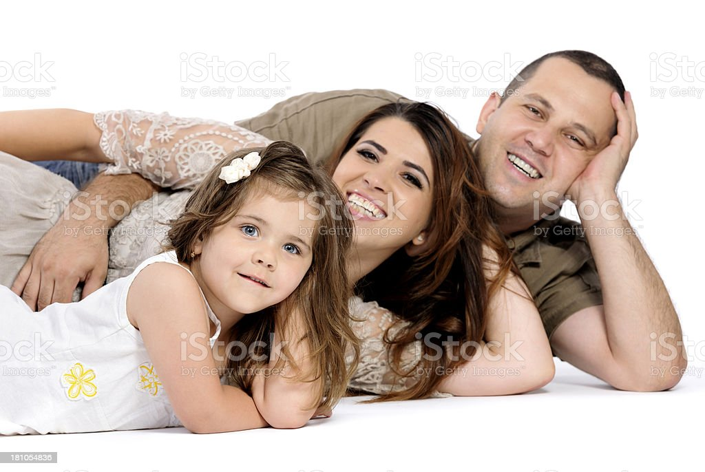 family laughing royalty-free stock photo