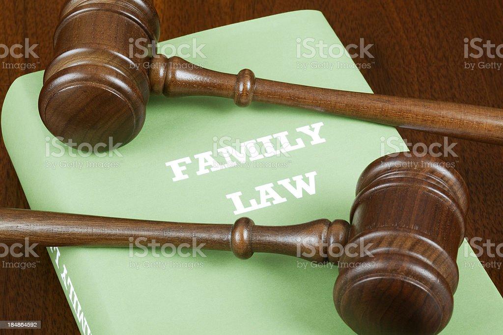 Family law royalty-free stock photo
