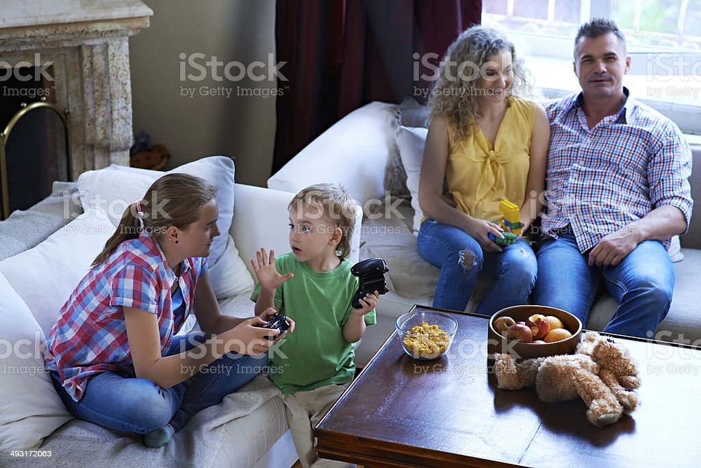 Family leisure time royalty-free stock photo
