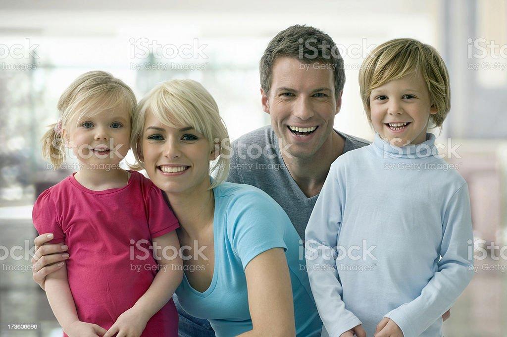 Family lifestyle portait royalty-free stock photo