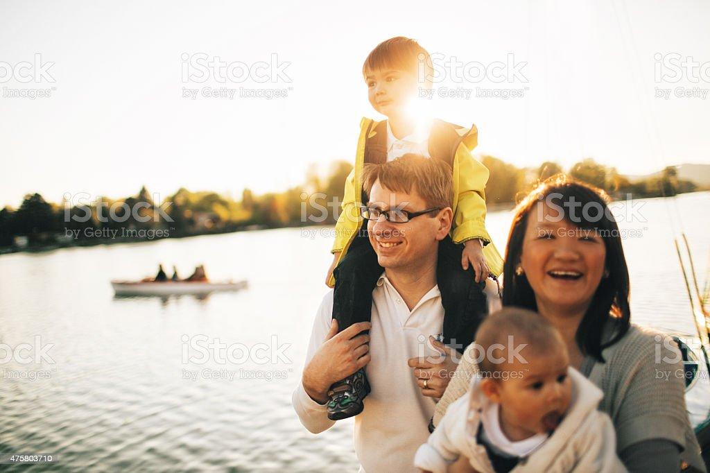 Family love stock photo