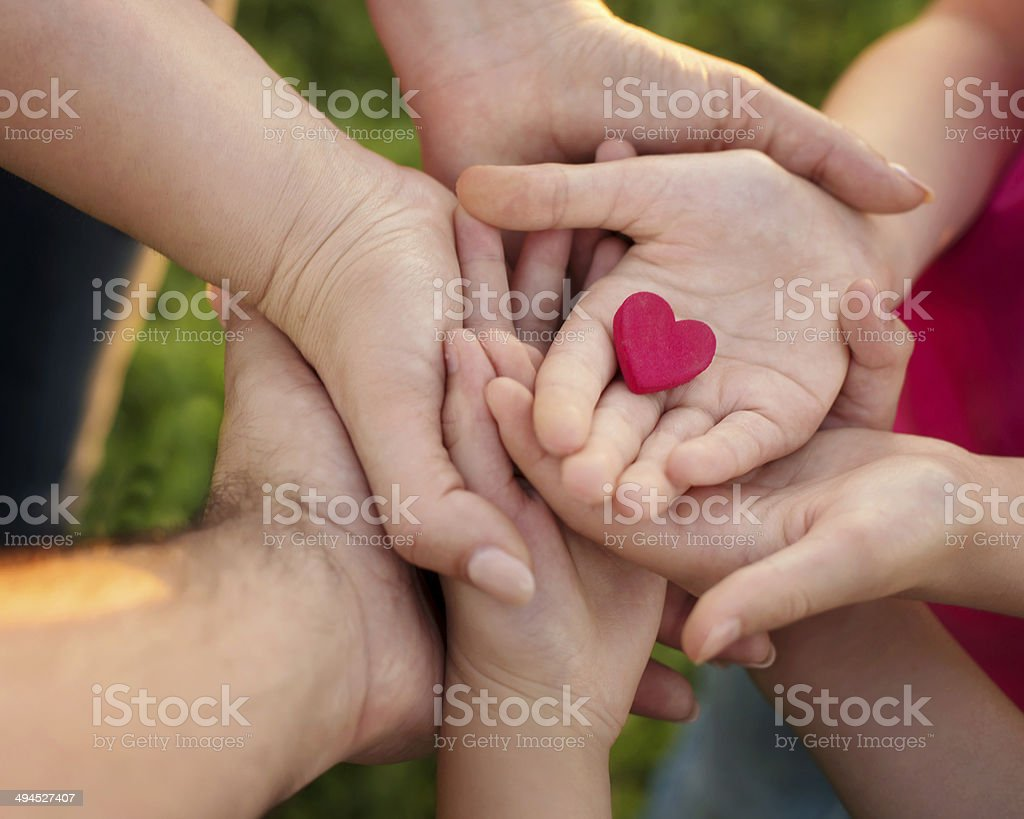 Family love stock photo