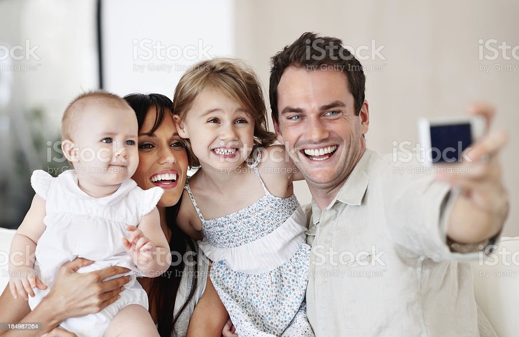 Family memories in the making royalty-free stock photo