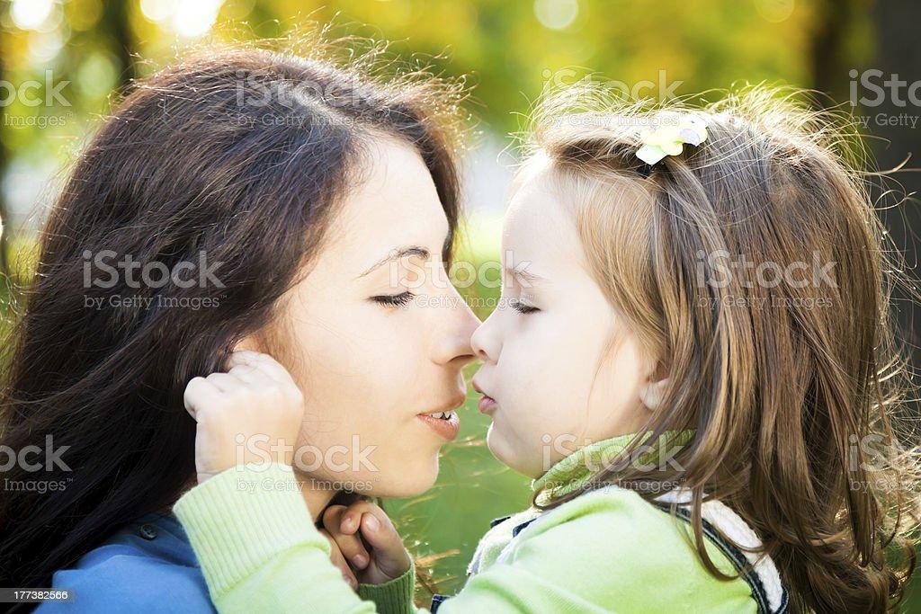 Family moments royalty-free stock photo