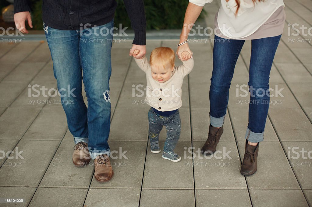 Family of Three stock photo
