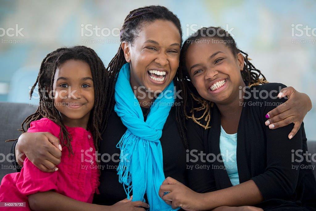 Family of Women stock photo
