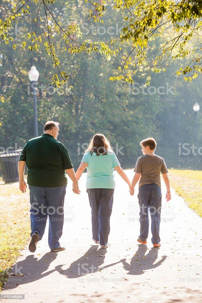 Family Park Portraits stock photo