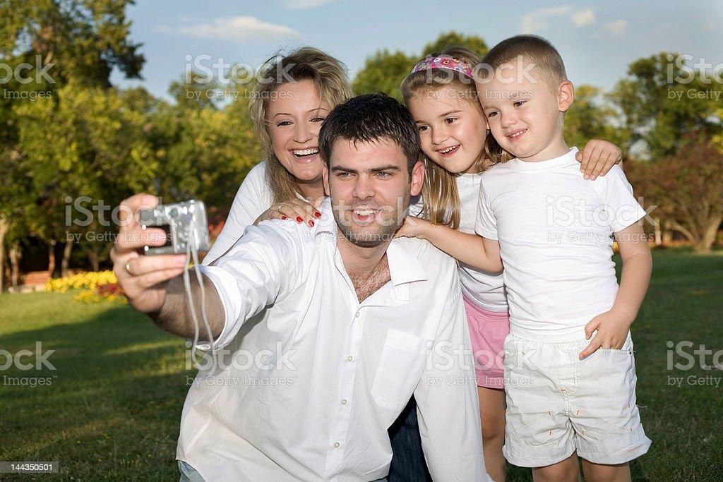family photo royalty-free stock photo