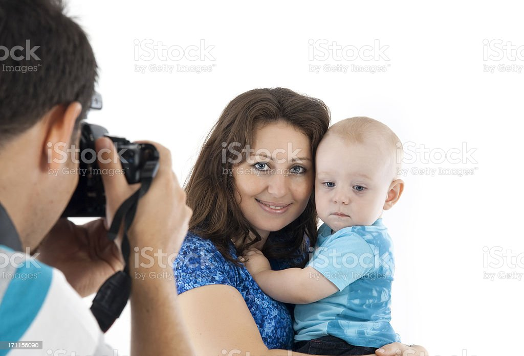 family photo session royalty-free stock photo