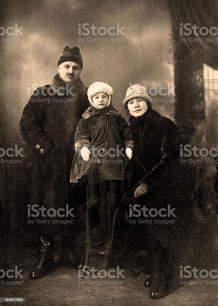 Family. stock photo