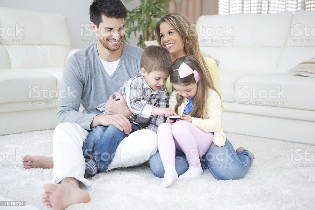 Family. royalty-free stock photo
