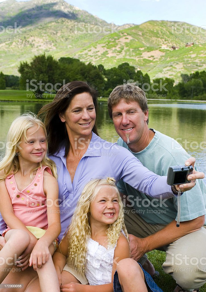 Family picture royalty-free stock photo