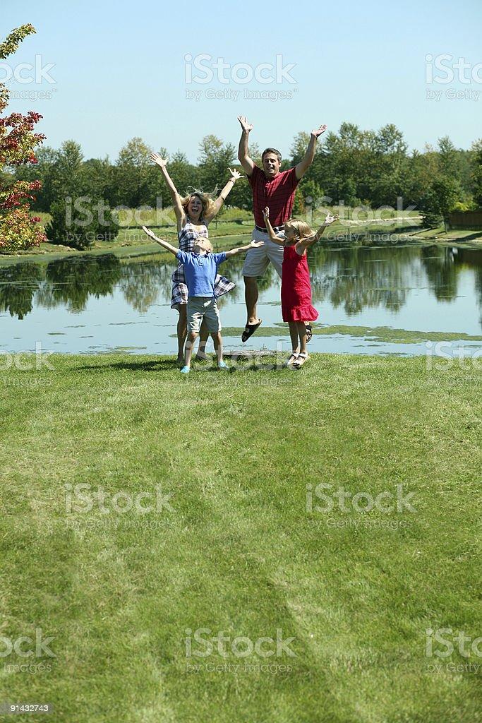 Family Plan royalty-free stock photo