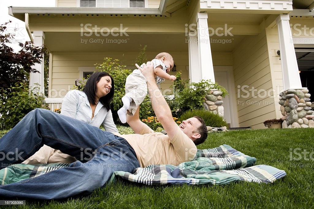 Family Play Time royalty-free stock photo