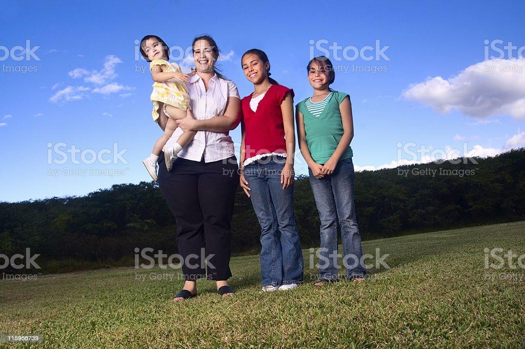 Family Portrait stock photo