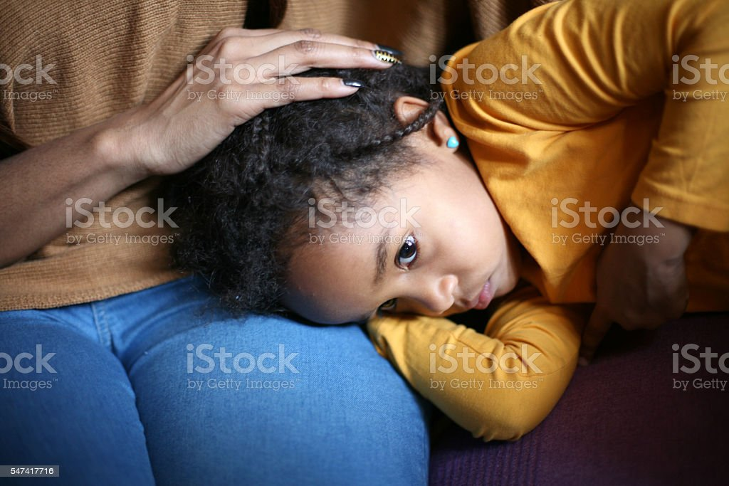 Family problems. stock photo