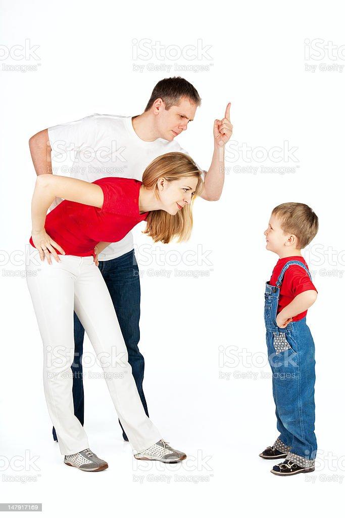 Family relationship royalty-free stock photo