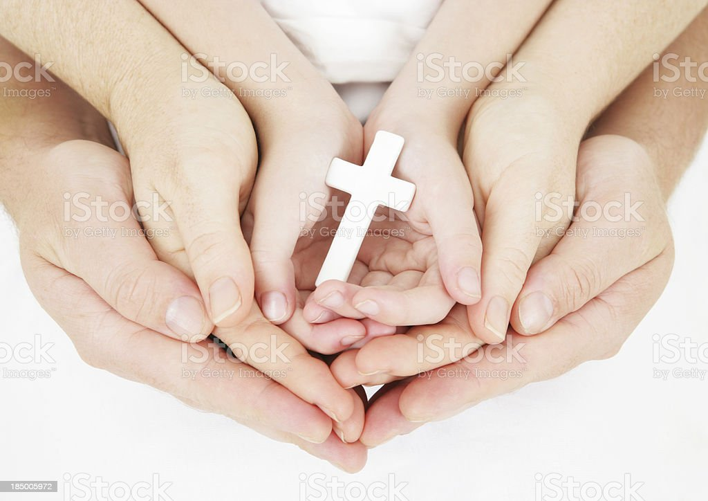 Family Religion royalty-free stock photo
