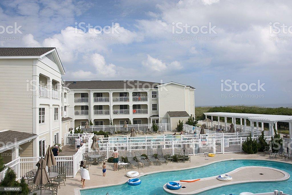 Family Resort royalty-free stock photo