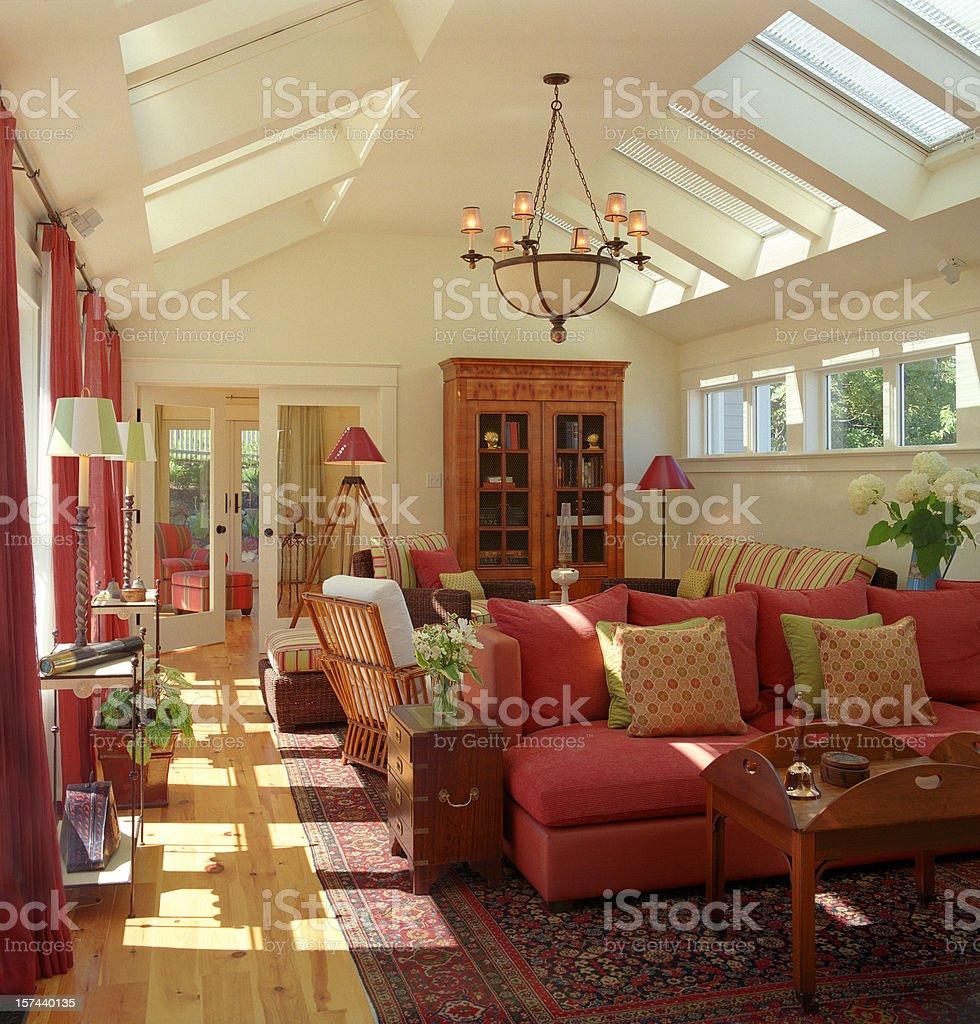 Family Room royalty-free stock photo