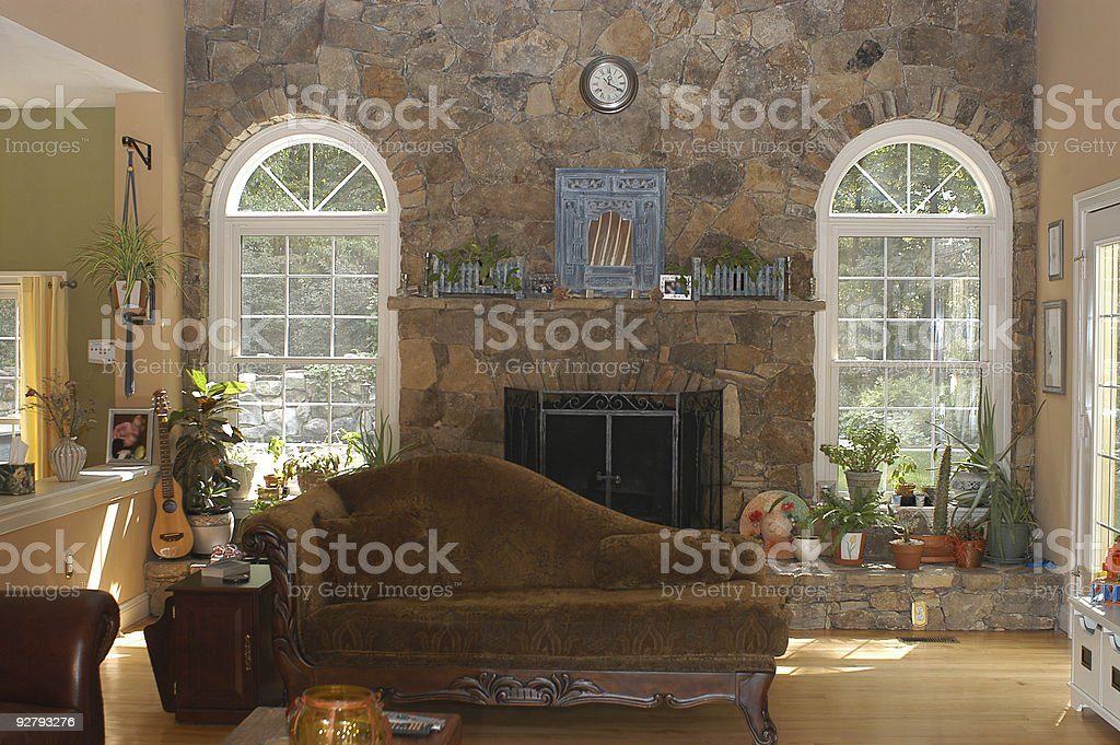 Family room royalty-free stock photo