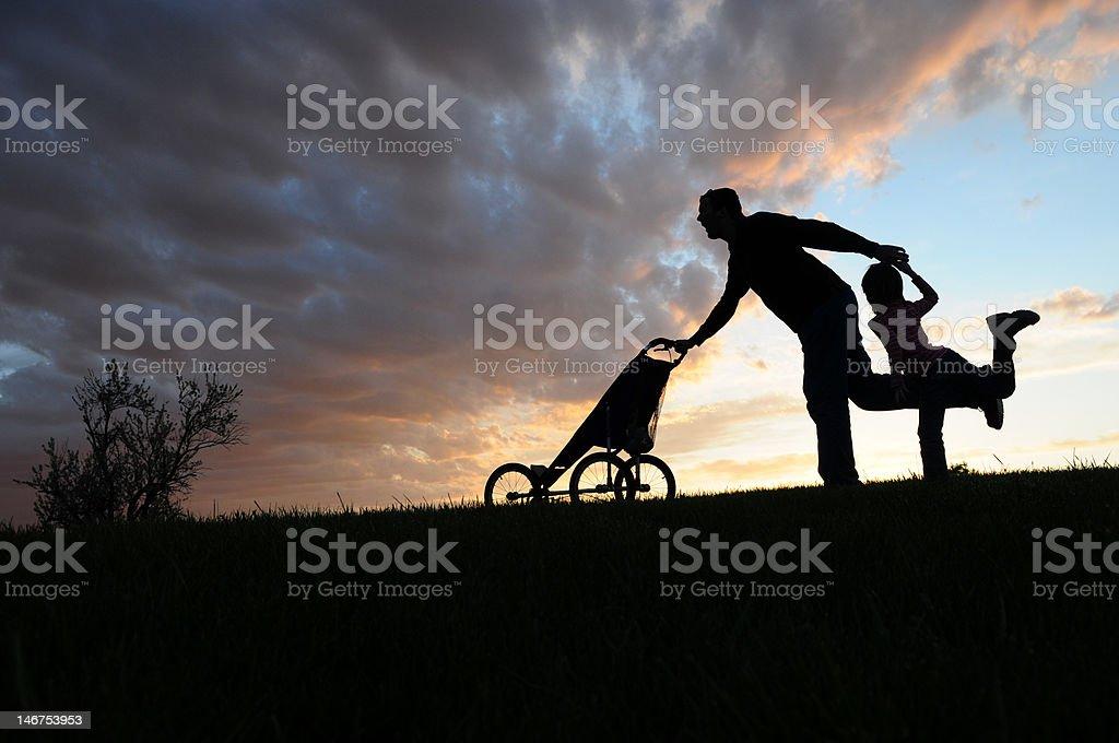 Family Run royalty-free stock photo