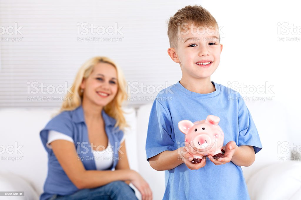 Family savings royalty-free stock photo